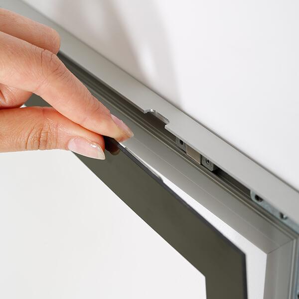 led magnetrahmen standard einseitig din a0 postermaß einseitig 4