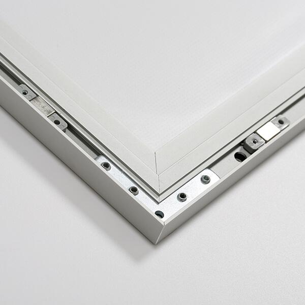 led magnetrahmen standard einseitig din a0 postermaß einseitig 6