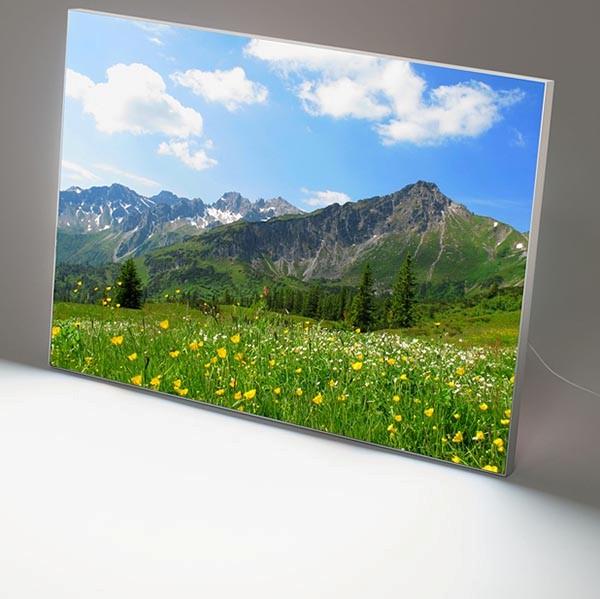MaxiFrame LED 20 einseitig DIN A2 Postermaß