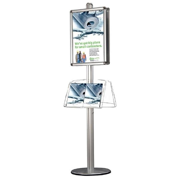 plakatständer free doppelseitig rondo din a1 postermaß 2x acrylablage
