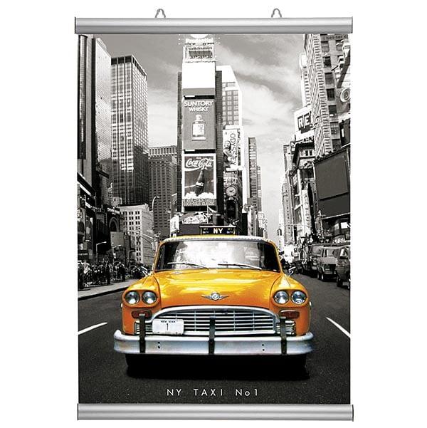 Poster-Klemmleiste Snap 26mm 420mm Länge