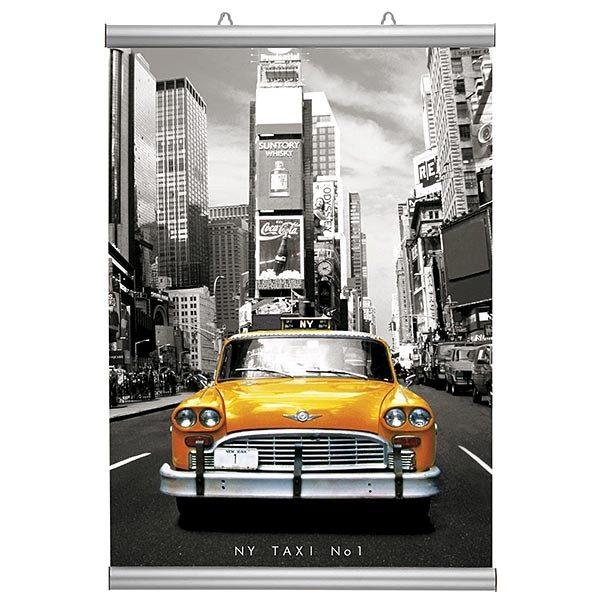 Poster-Klemmleiste Snap 26mm 700mm Länge