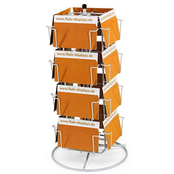 thekenkartenständer pk 16 silber 1