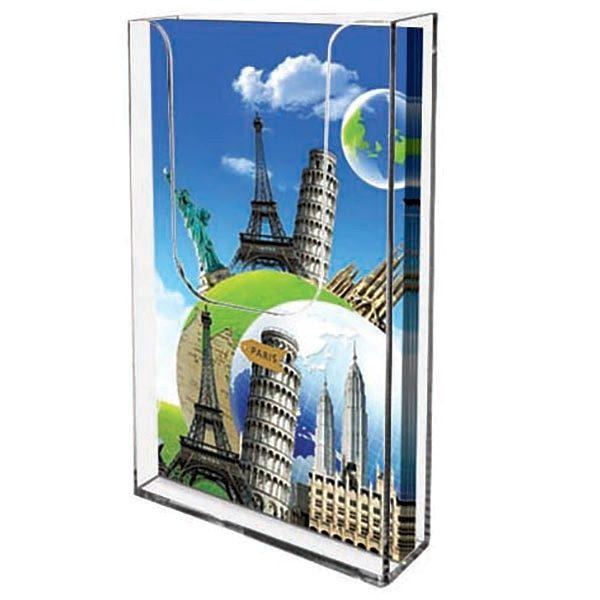 wandprospekthalter din lang hochformat 100 x 210 mm