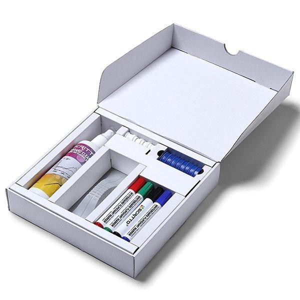 whiteboard starterset stifte magnete schwamm reinigungsspray