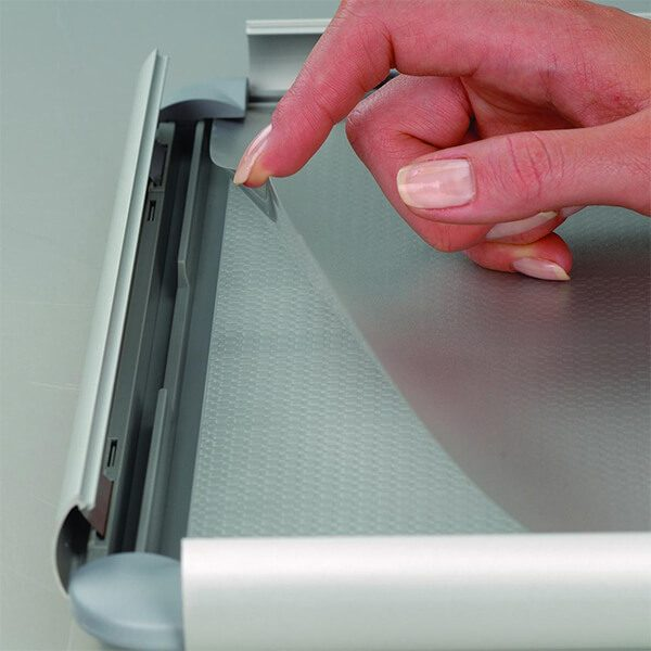 klapprahmen opti frame 25mm din a2 postermaß-rondo-ecken-25mm-profil-obere-profile-silber-eloxiert-ohne-rückenstütze-3