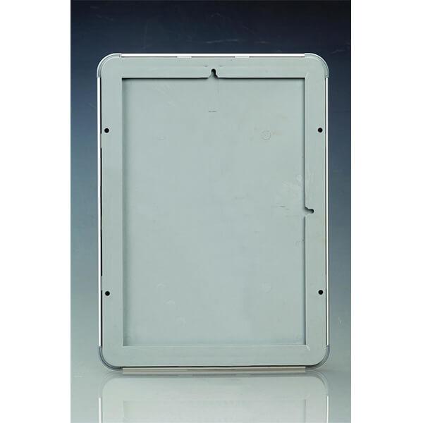 klapprahmen opti frame 25mm din a3 postermaß rondo ecken 25mm profil obere profile silber eloxiert