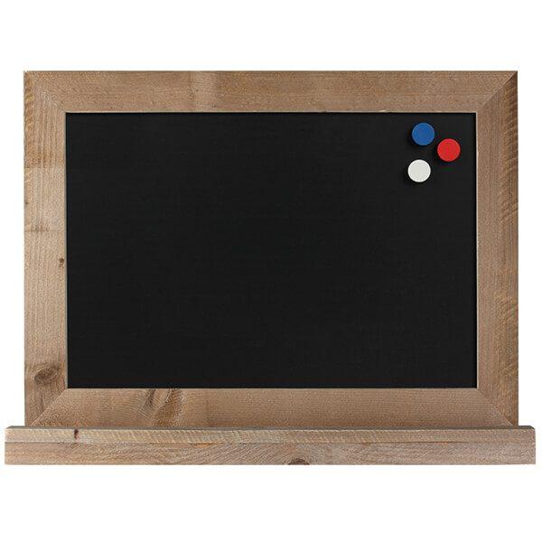 kreidetafel holz flair magnetisch 50x70 cm 1