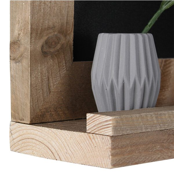 kreidetafel holz flair magnetisch 50x70 cm 4