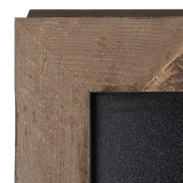 kundenstopper bauholz 380 x 570 mm schreibfläche 2
