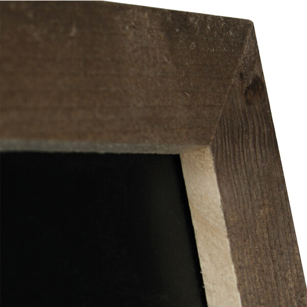 kundenstopper bauholz 380 x 570 mm schreibfläche 5