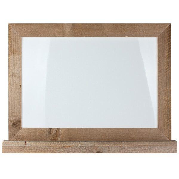 whiteboard tafel holz flair magnetisch 50x70 cm 1
