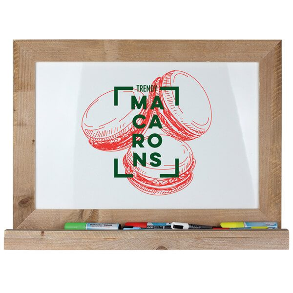 whiteboard tafel holz flair magnetisch 50x70 cm 4
