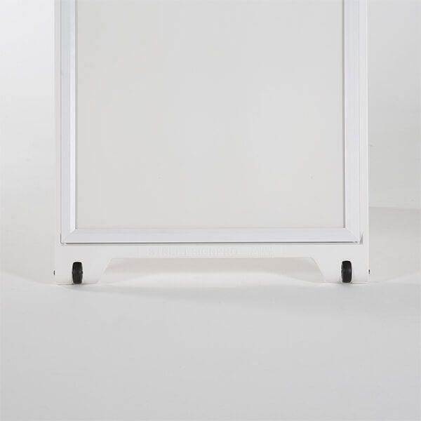 kundenstopper signpro weiß 3