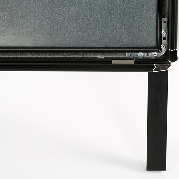 kundenstopper outdoor wasserfest 32mm schwarz din a1 postermaß 1