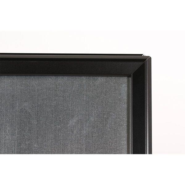 kundenstopper outdoor wasserfest 32mm schwarz din a1 postermaß 5