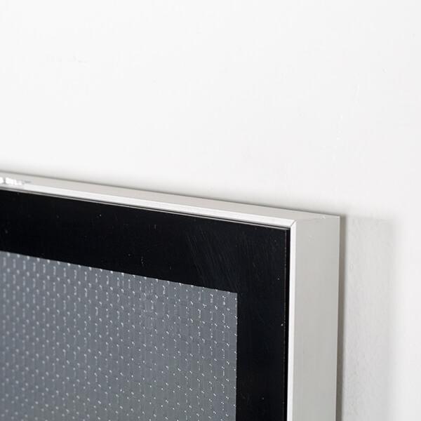 magnet posterrahmen silber din a1 postermaß 9