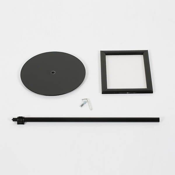 infoständer teleskop doppelseitig schwarz din a3 postermaß 1