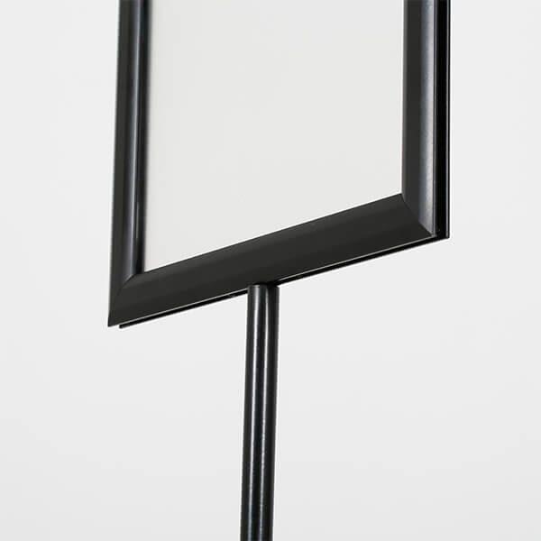 infoständer teleskop doppelseitig schwarz din a3 postermaß 7
