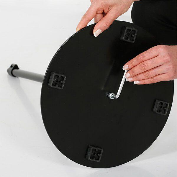 infoständer teleskop doppelseitig schwarz din a3 postermaß 9