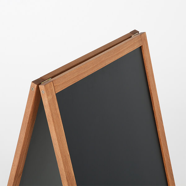 kundenstopper holz economy wetterfest 460 x 680 mm schreibfläche 3