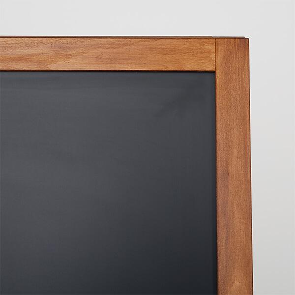 kundenstopper holz economy wetterfest 600 x 1200 mm schreibfläche 2