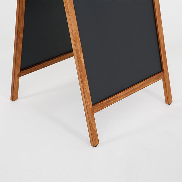 kundenstopper holz economy wetterfest 600 x 1200 mm schreibfläche 9