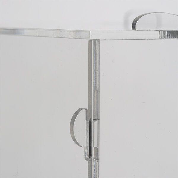 losbox ständer mit schloss 30x30x30 cm aus acryl 4