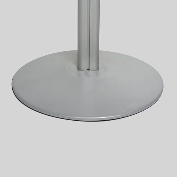 losbox ständer mit topschild 21x21x21 cm aus acryl abschließbar 8