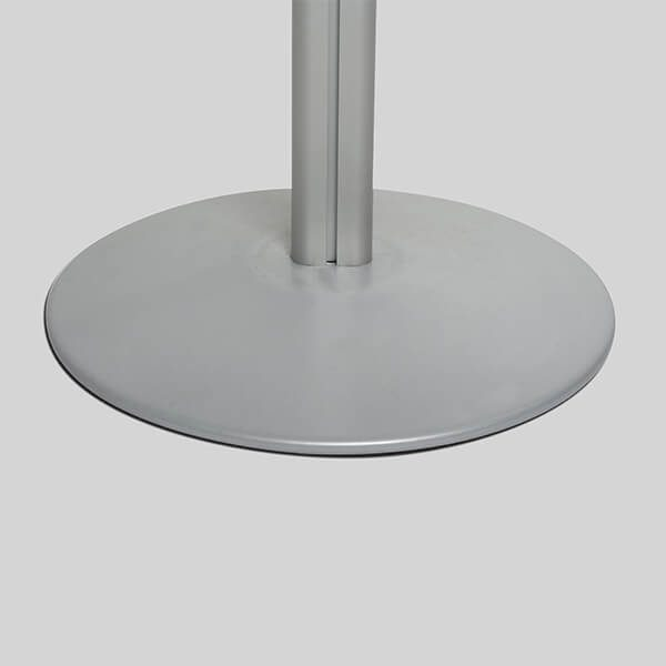 losbox ständer mit topschild 30x30x30 cm aus acryl abschließbar 6
