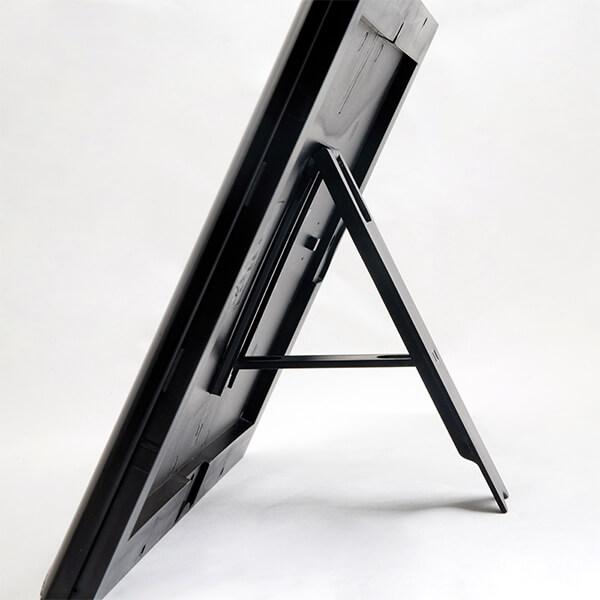 klapprahmen-opti-frame-schwarz-25mm-din-a4-postermaß-mit-rückenstütze