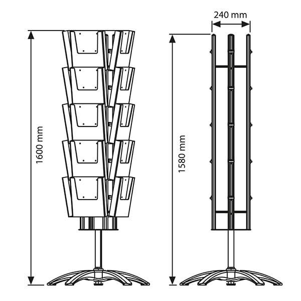 prospektständer-multiside-drehbar-4-seitig-20-x-din-a4