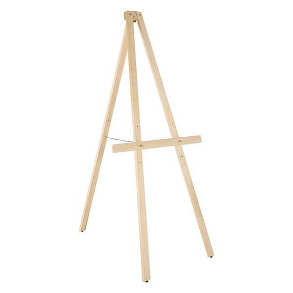 Holz Staffelei Basic Natur vorne