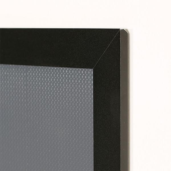 klapprahmen hardline din a4 detail wand