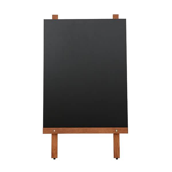 kundenstopper holz basic mit kreidetafel 1