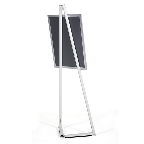 mobile staffelei aluminium weiss hinten