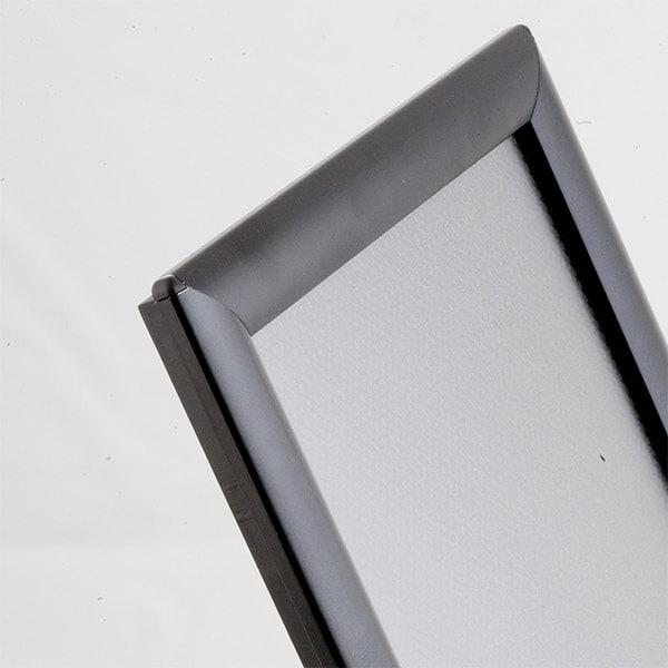 klapprahmen opti frame schwarz din a3 detail