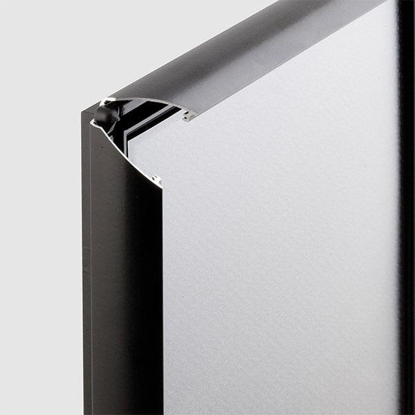 klapprahmen opti frame schwarz din a3 profil