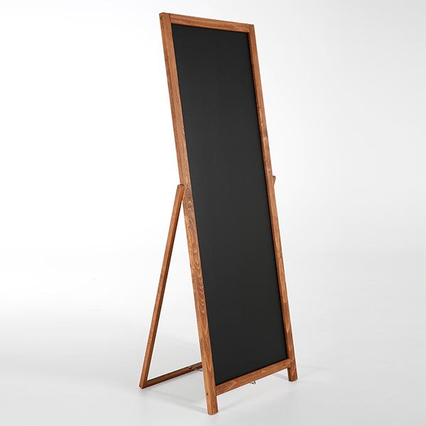 Kundenstopper Holz Floor 440x1370 Vorne