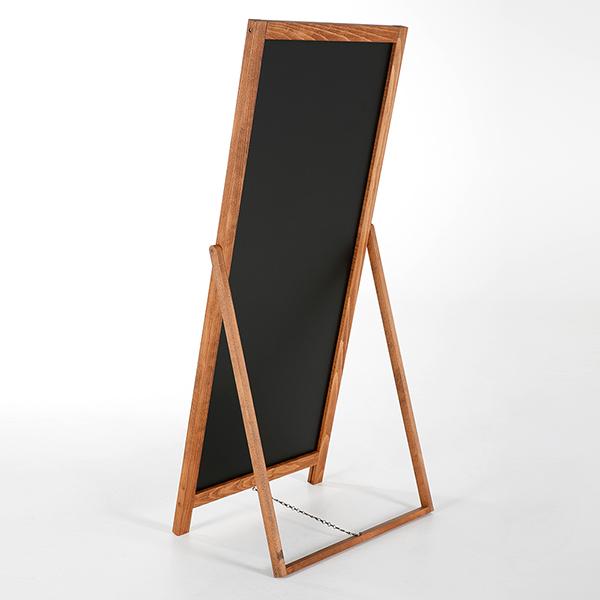 Kundenstopper Holz Floor 440x1020 hinten 2