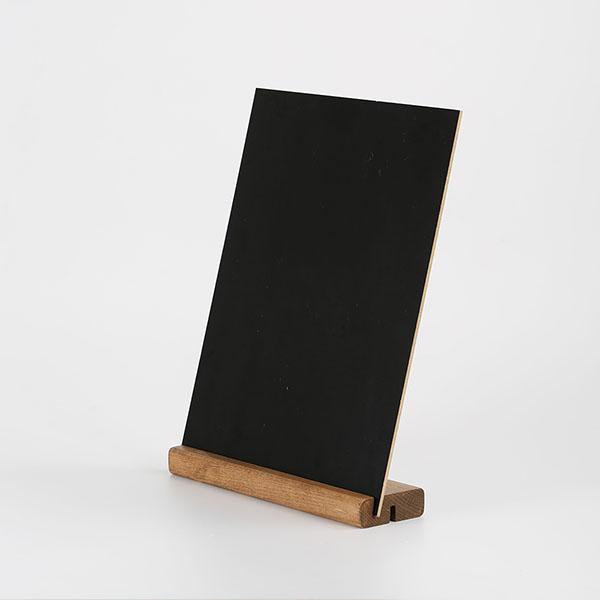 Tischaufsteller Holz DOUBLE 5