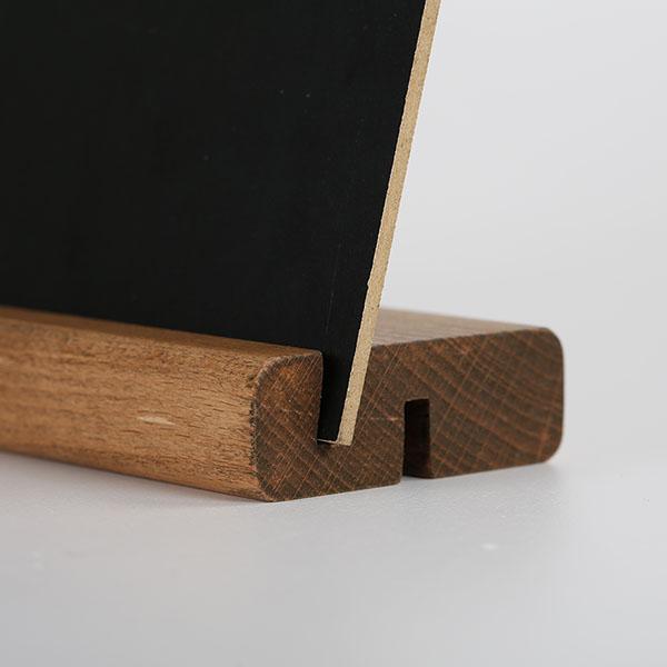 Tischaufsteller Holz DOUBLE
