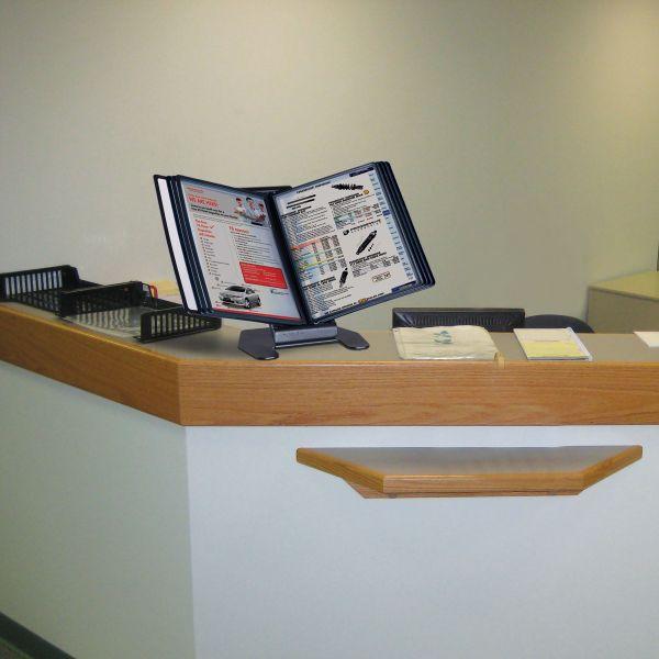 Blättergestell DIN A4 Anwendung Büro